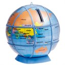 Tirelire globe à monter