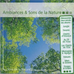 CD Ambiances & Sons de la Nature