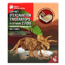 Coffret d'excavation Tricératops