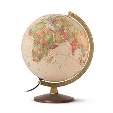Globe antique Ocra Diamètre 30 cm