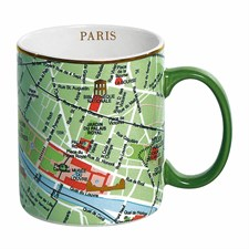 Tasse carte de Paris
