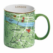 Tasse carte de Londres