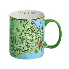 Tasse carte de New York