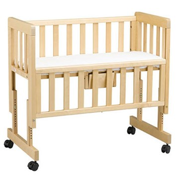 Lit co-sleeping en bois