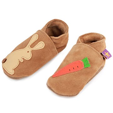 Chaussons lapin cuir M