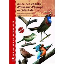 Guide des chants d'oiseaux d'Europe...