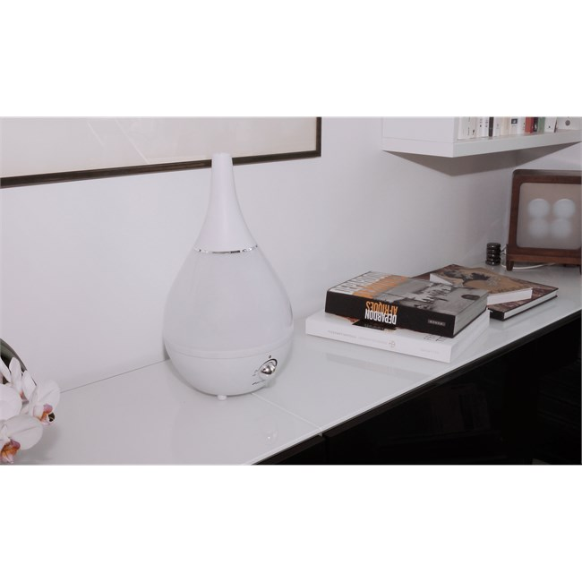 gota nouveau blanc humidificateur d 39 air nature. Black Bedroom Furniture Sets. Home Design Ideas