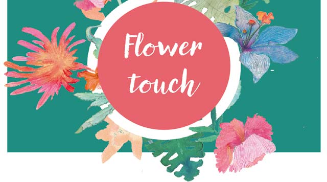 flower touch
