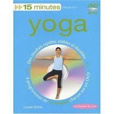 Yoga 15 min avec DVD