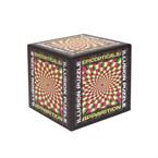Cube puzzle illusions d'optique