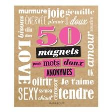 50 Magnets pour mots doux