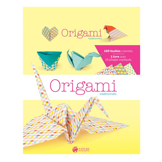 Boîte Origami traditionnels