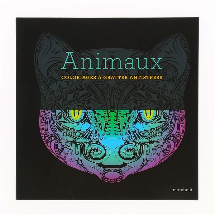 Coloriage Anti Stress Nature Et Decouverte.Animaux A Gratter Nature Decouvertes