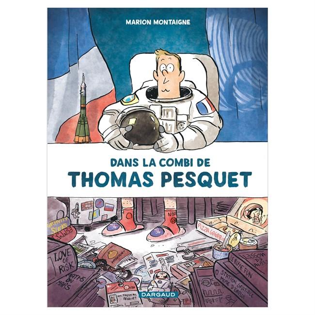 Livre Dans la combi de Thomas Pesquet