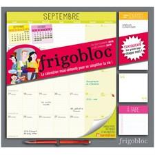 Frigobloc 2018 version mensuelle