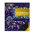 Constellations sur cartes à gratter