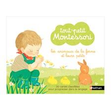 Coffret Montessori Animaux de la ferme