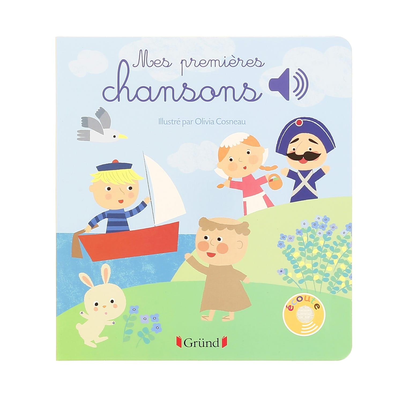 Livre Musical Mes Premieres Chansons