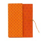 Carnet Zigzag orange