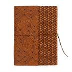 Carnet Zigzag ocre