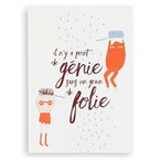 Carte Point de génie sans folie