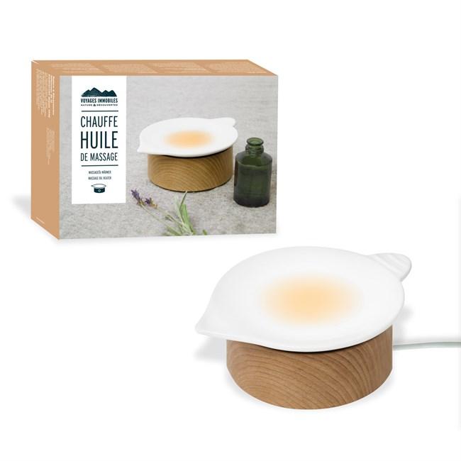 chauffe huile de massage nature d couvertes. Black Bedroom Furniture Sets. Home Design Ideas