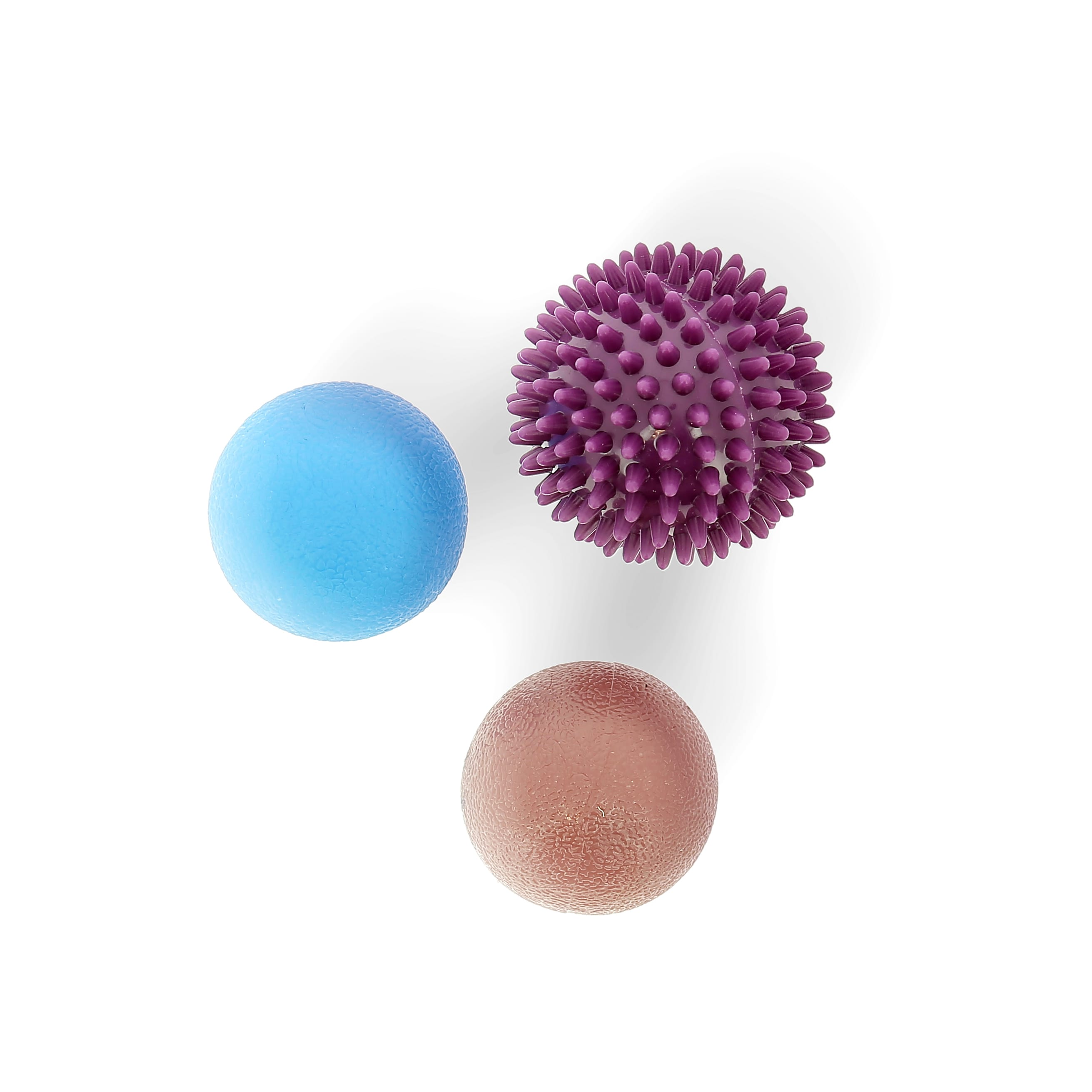 yoga pilates pilates pour gymnastique exercices d/équilibre Anlem Lot de 2 balles dexercice pour tapis de massage pour les pieds
