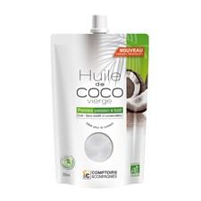 Huile de coco vierge biologique