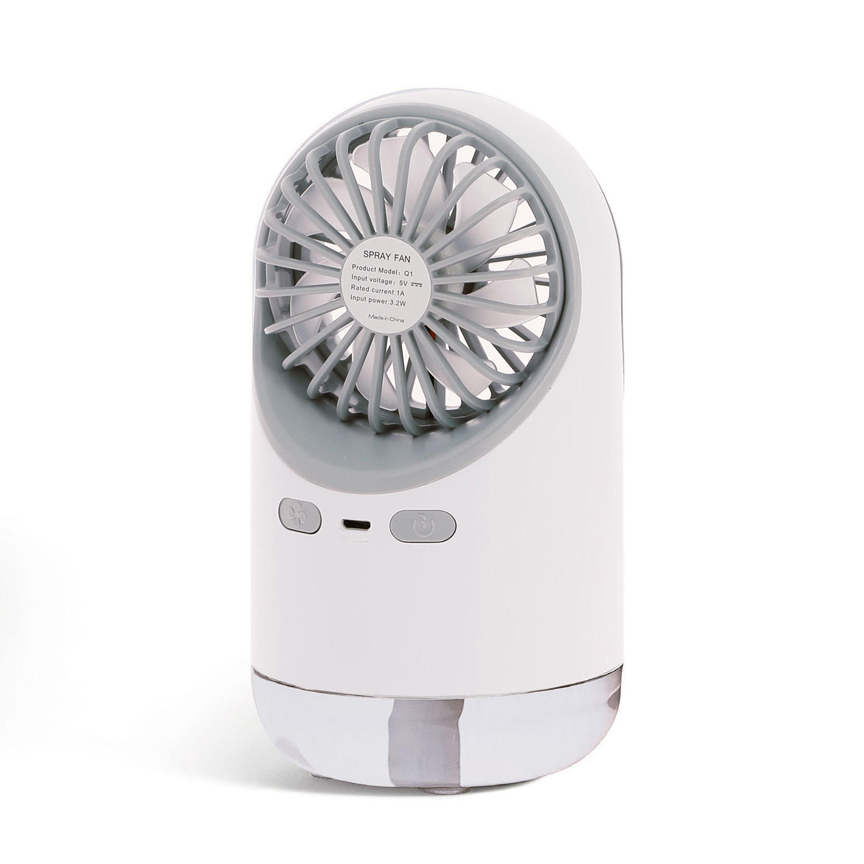Mini ventilateur brumisateur autonome