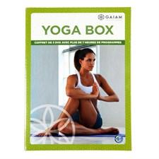 Coffret 3 DVD Yoga Box Gaiam