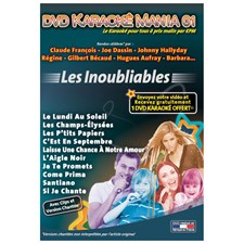 Karaoke Mania les inoubliables