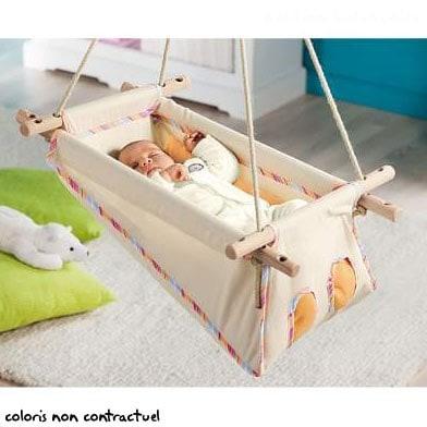 z bul hamac en coton bio nature d couvertes. Black Bedroom Furniture Sets. Home Design Ideas