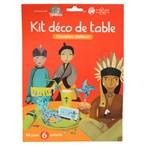 Kit déco de table chevaliers