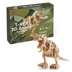 Maquette T-Rex 3D animé
