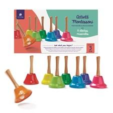 8 cloches musicales Activité Montessori