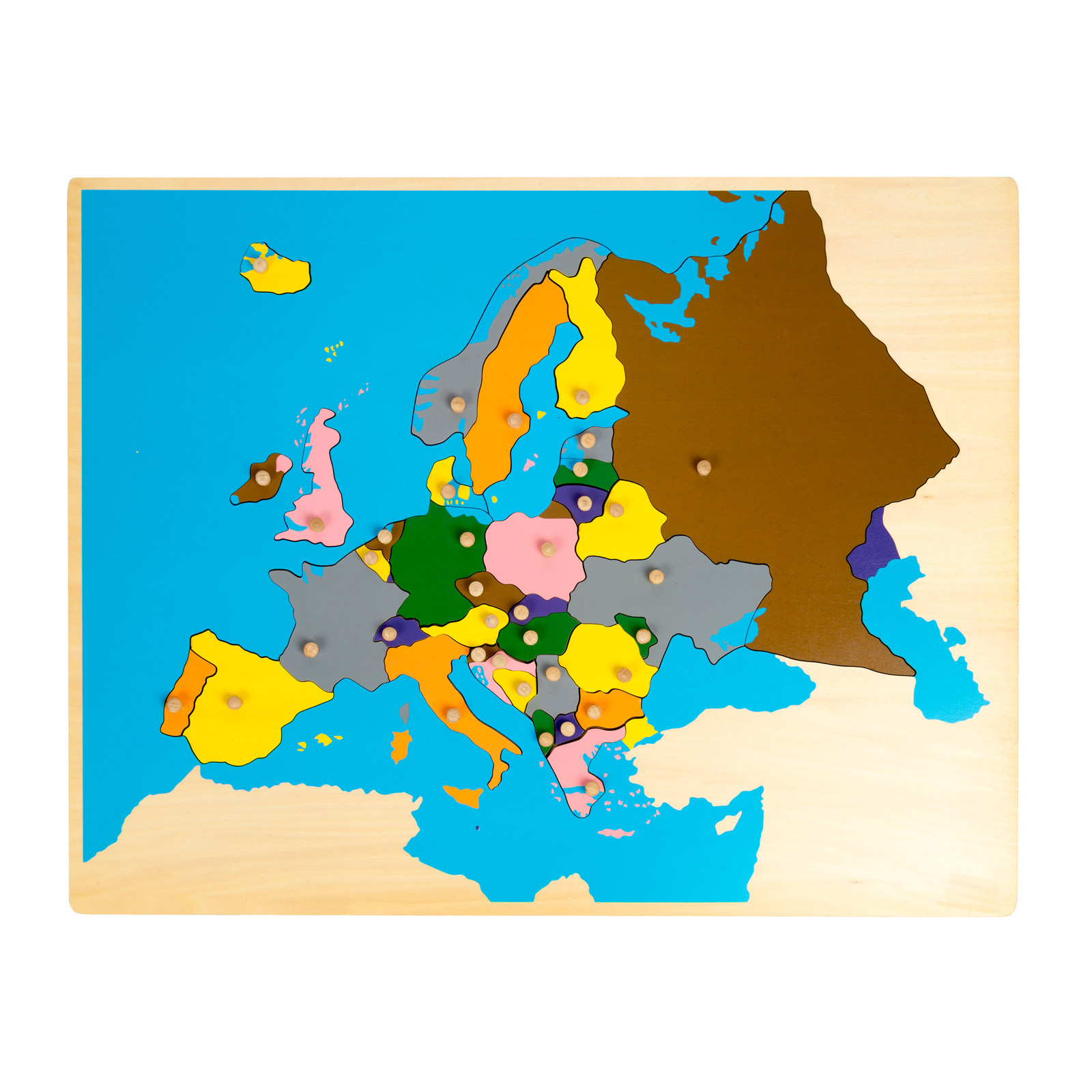 Carte De Leurope Jeux Educatifs.Puzzle Carte De L Europe Nature Decouvertes