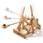 Maquette catapulte de Léonard de Vinci
