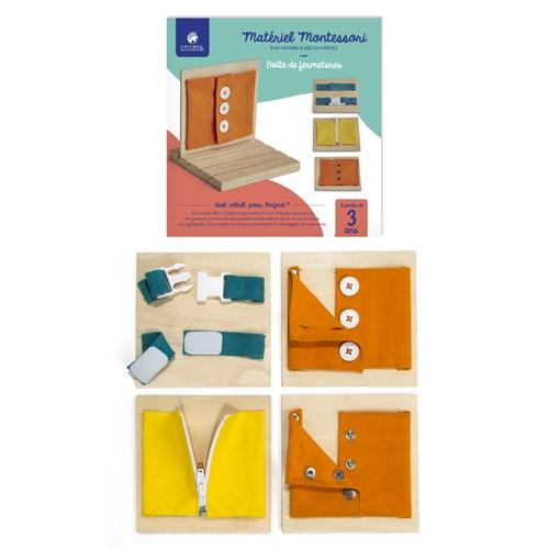 bo te de fermetures montessori nature d couvertes. Black Bedroom Furniture Sets. Home Design Ideas