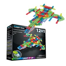 Laser Pegs Galactic Cruiser 12-in-1