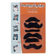Moustaches incognito
