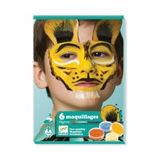 Coffret maquillage tigre
