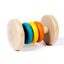 Hochet 3 anneaux/3 couleurs