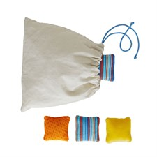 Coussins sensoriels en coton bio*