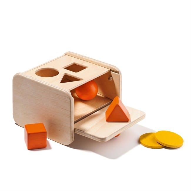 Boîte de notion de permanence de l'objet