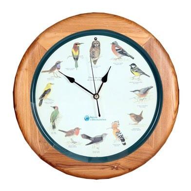 horloge oiseaux d europe nature d couvertes. Black Bedroom Furniture Sets. Home Design Ideas