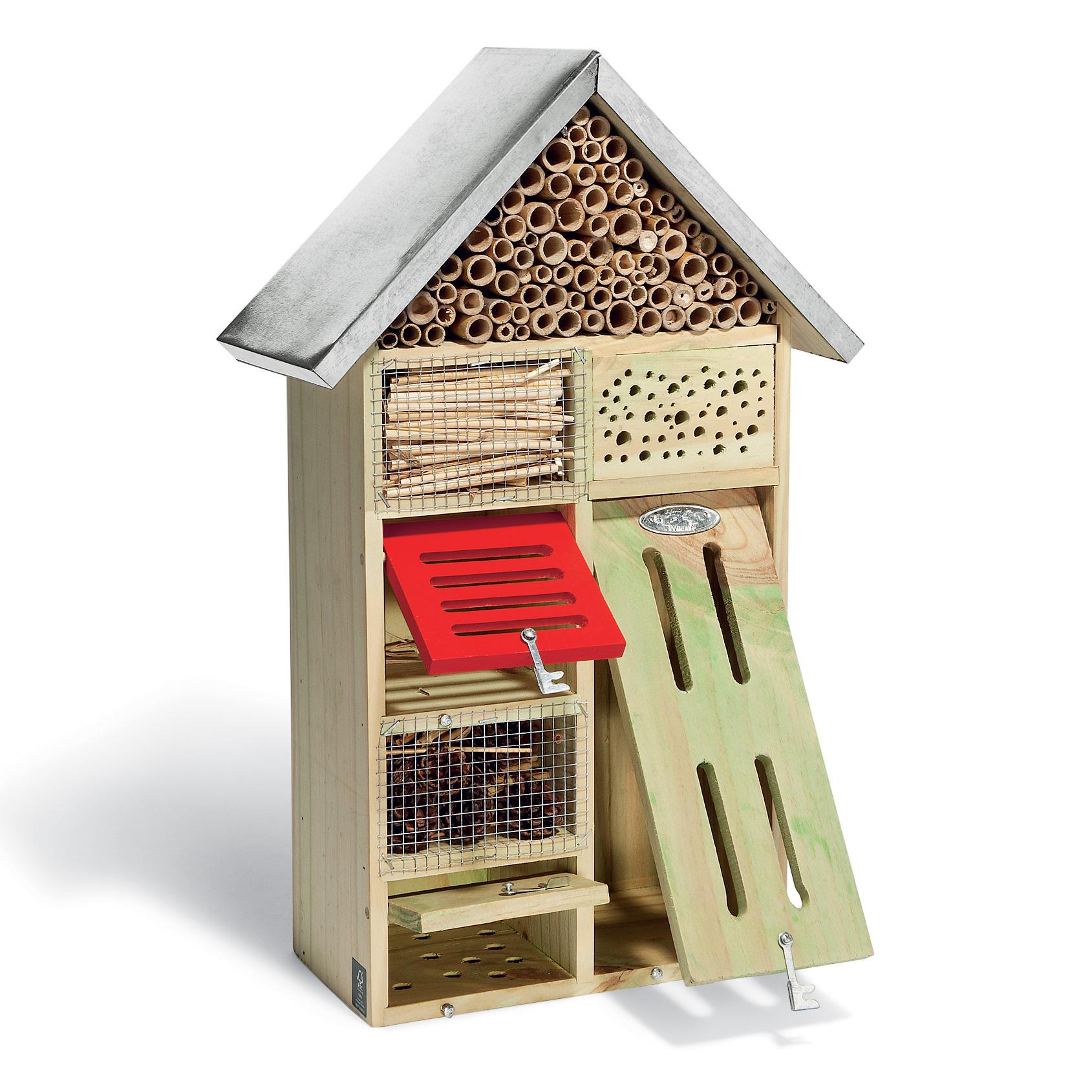 Hotel A Insecte Fabrication hôtel à insectes en bois
