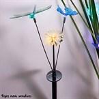 3 ornements pour tige solaire