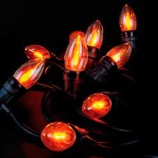 Guirlande lumineuse flammes
