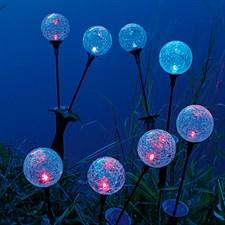 Sphère lumineuse solaire