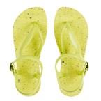 Sandales vertes